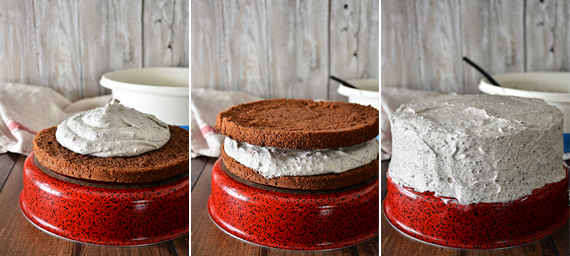 сборка торта